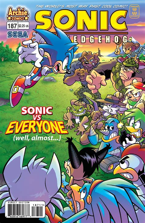 Archie Sonic the Hedgehog Issue 187   Mobius Encyclopaedia