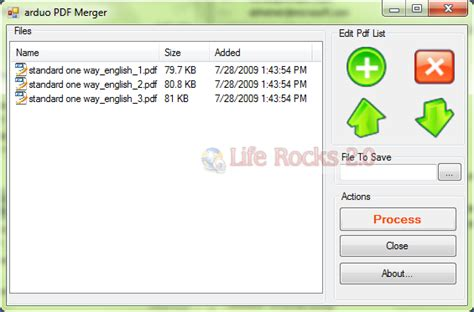 Split and Merge PDF Files with ArduoPdfMerger