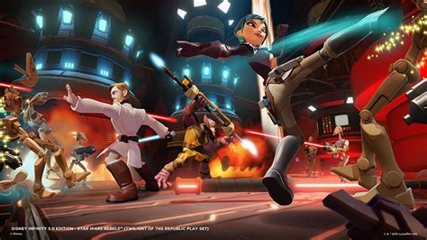 Star Wars Rebels characters announced for Disney Infinity