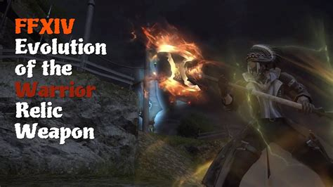 FFXIV Evolution of the Warrior Relic Weapon [Feat