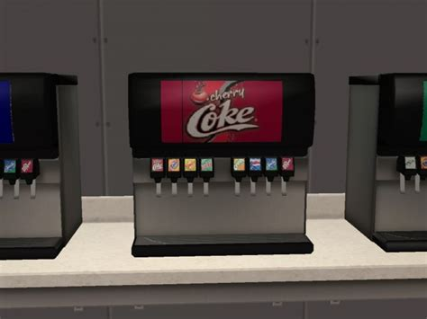 Mod The Sims - More Recolours For Exnem's Soda Machine!!